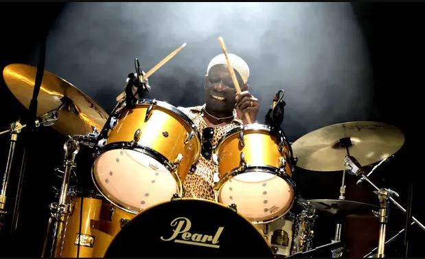 Tony Allen learnt to play the drum himself before a legendary career (Edmond/Sipa/Rex/Shutterstock)