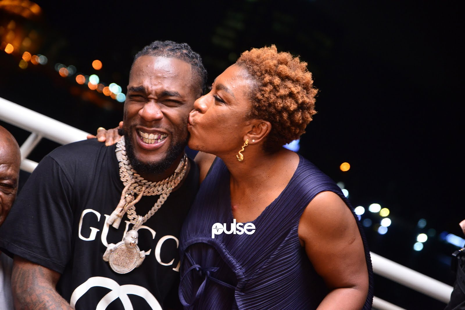 Burna Boy hosts listening party for African Giant in Lagos. (Pulse Nigeria)